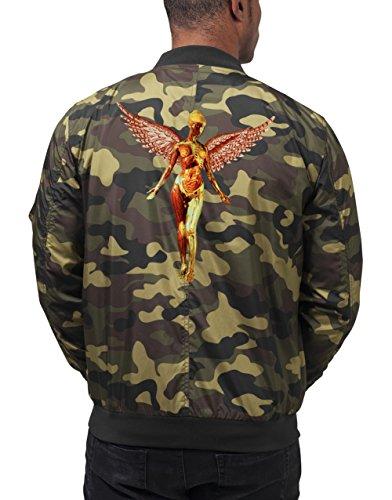 Utero Bomberjacke Camouflage Certified Freak