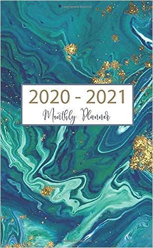 January 2020 Book It Calendar Monthly Planner 2020 2021: 24 Month Pocket Planner & Calendar