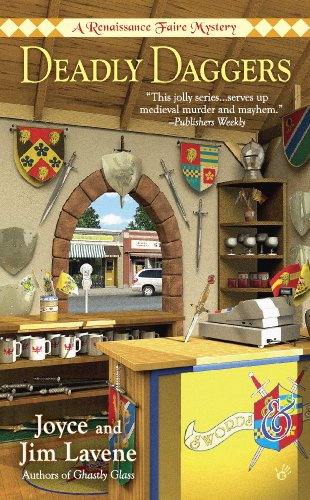 Deadly Daggers (Renaissance Faire Mystery Book 3)