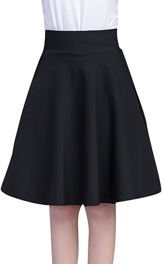 MISSMAO Faldas Corto Cintura Alta Falda Plisada Vestidos de ...