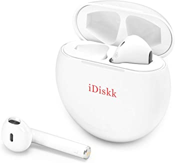 iDiskk Touch-Control Auto-paring Bluetooth 5.0 Ture Wireless Earbuds