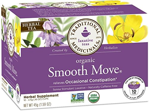 Traditional Medicinals Tea Smooth Move Sngl C by Traditional Medicinals