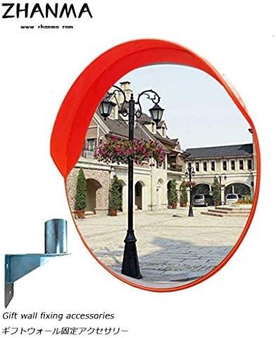 カーブミラー 凸面鏡アジャスタブル安全ミラートラフィックミラーの街角ガレージ駐車場のためのブラインドスポットを排除します RGJ4-26 (Size : 300mm)