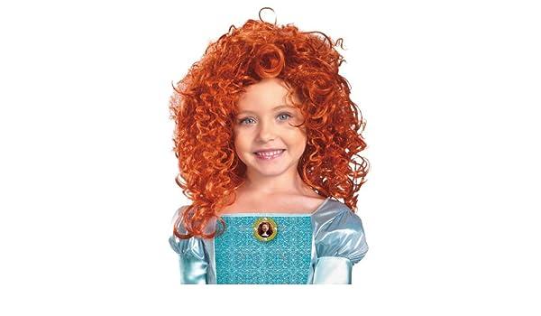 Disfraces para todas las ocasiones DG43606 Brave-Merida peluca: Amazon.es: Ropa y accesorios