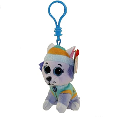 T&Y Ty Paw Patrol EVEREST - Husky dog clip: Toys & Games