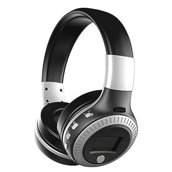 Healifty Auriculares de Diadema Bluetooth Inalámbricos con Micrófono Manos Libres y Sonido Estéreo para PC Móvil
