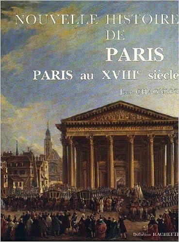 Livre Paris au 18ème siècle pdf