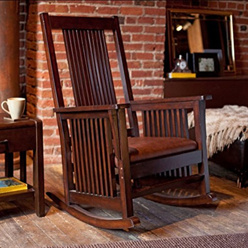 Belham Living Province Mission Rocker – Walnut