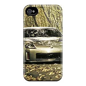 Durable Defender Case For Iphone 4/4s Tpu Cover(350z)