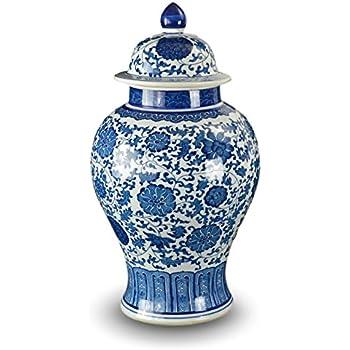 Amazon Big Sale Classic Chinese Vintage Ming Era Blue And