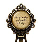 J.R.R. Tolkien''Not all those who wander are lost.'' Elf Elven Runes Bookmark