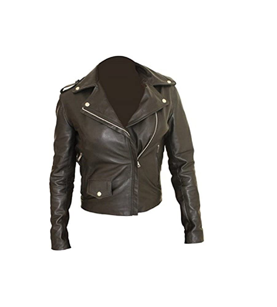 Excliria Womens Jessica Jones PU Leather Jacket