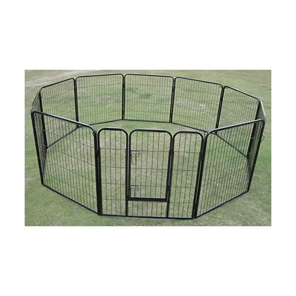 10 x 1200 Tall Panel Pet Dog Cat Exercise Play Pen Enclosure – Animal Protection Playpen Toilet Training with Secure and… Click on image for further info. 3