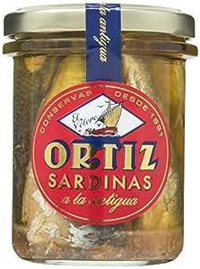 Sardinas a la antigua 190g tarro cristal Ortiz por Zapore Jai