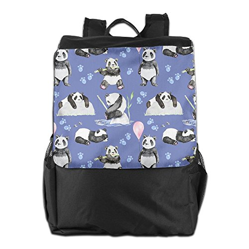 ZGZGZ Funny Panda Flying Outdoor&travel&sports Shoulder Bags For Man And Woman (Heart Winged Handbag)