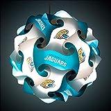 FanLampz Original Self-Assembly Lighting System for Patios, Garages, Man Caves - NFL Officially Licensed Item (Jacksonville Jaguars)