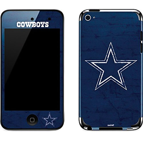 NFL Dallas Cowboys iPod Touch (4th Gen) Skin - Dallas Cowboys Distressed Vinyl Decal Skin For Your iPod Touch (4th Gen)
