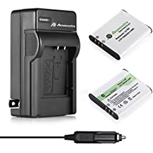 Powerextra 2 x Olympus LI-50B, Pentax D-LI92 Replacement Li-ion Battery + Charger For Ricoh Pentax Optio I-10, RZ10, RZ18, WG-1, WG-1 GPS, WG-2, WG-2 GPS, WG-3, WG-3 GPS, WG-4, WG-4 GPS, WG-10, X70