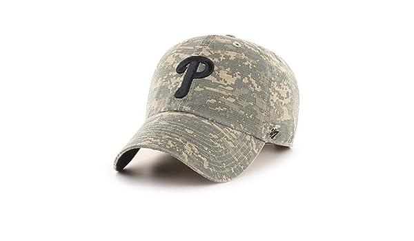 47 Brand Philadelphia Phillies Phalanx Clean Up Military Army Green Digital Camo
