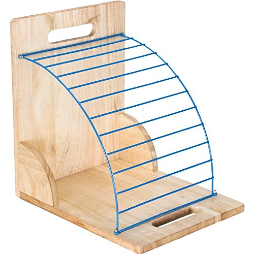Really Good Stuff Wood and Wire Clipboard (Clipboard Rack)