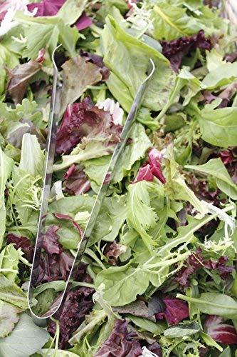 RDR Seeds 500 Mesclun Mix Lettuce Seeds Mixed Greens for Salad