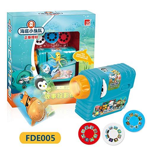 ETbotu Baby Sleeping Company Story Submarine Projector Sleep Asistant Flashlight Marine Story Toy