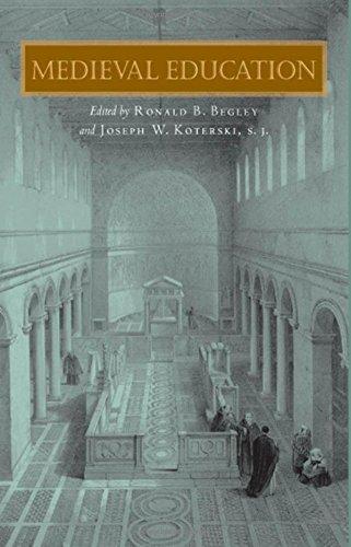 Medieval Education (Fordham Series in Medieval Studies)