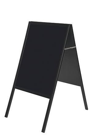 Bi-Office DKT30404042 - Pizarra de tiza con marco, 600 x ...