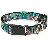 Disney Plastic Clip Collar - The Jungle Book Scenes - Large 15-26 1.0