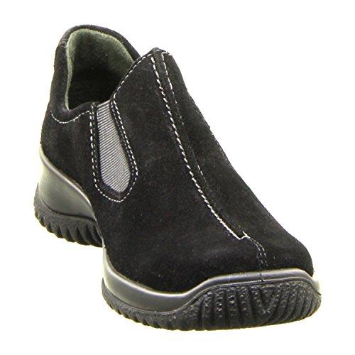 Legero SOFTSHOE - Zapatillas de casa de piel mujer negro
