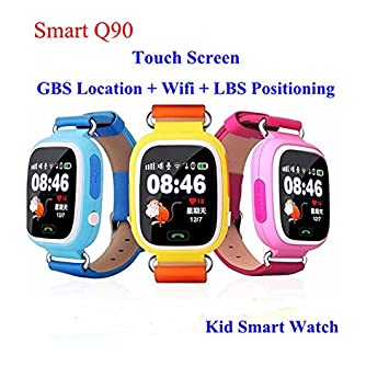 d83678708be Generic Pink Russia, Russian Federation : GPS Q90 Smartwatch Touch Screen  WIFI Positioning Children Smart