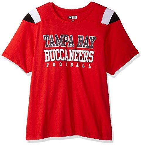 NFL Tampa Bay Buccaneers Women S S SCOOP NECK PANEL SHOULDER 3942d5aff