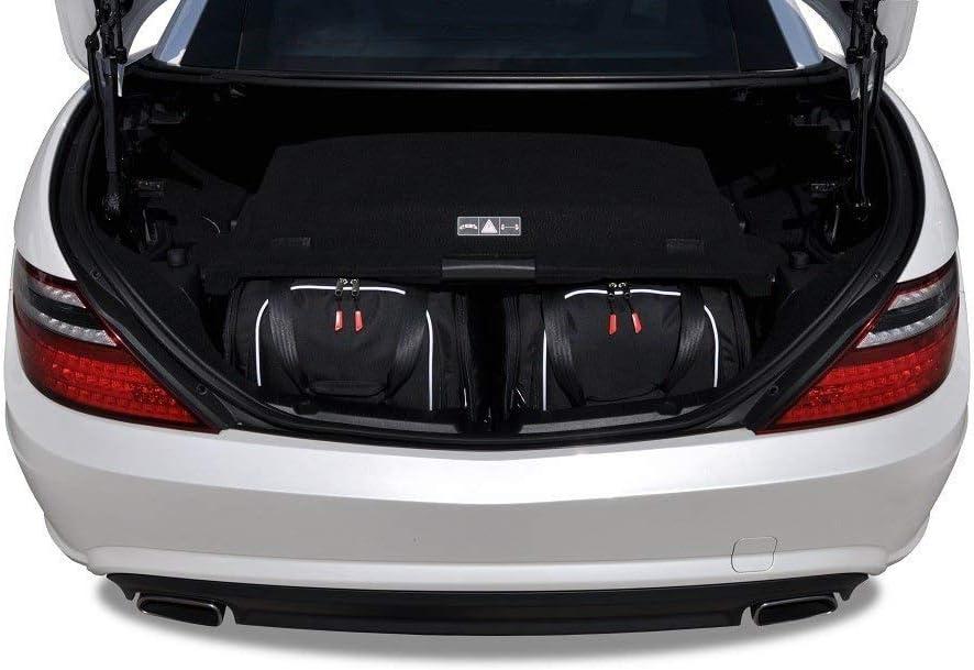 KJUST Kit de Bolsas 2 pcs Compatibles con Mercedes-Benz SLK 2011-2015 Maletero