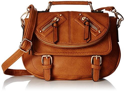 Aldo Talla Cross Body Bag Tan One Size
