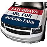 APFoo Saturdays are for Jaguars fans Car Automobile Hood Cover M(80x130cm)
