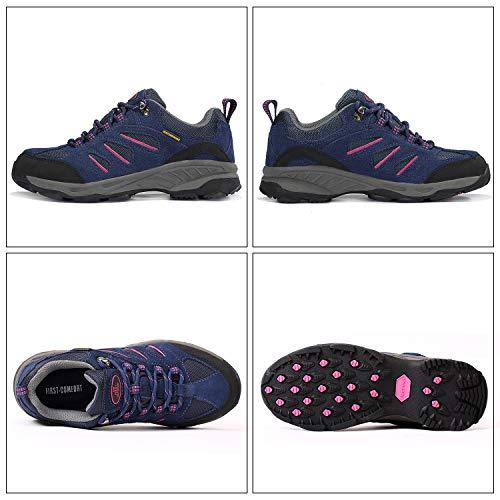 Piel Otra Zapatillas Para Tfo Senderismo Mujer Blue Dark De Women OPfxIqH