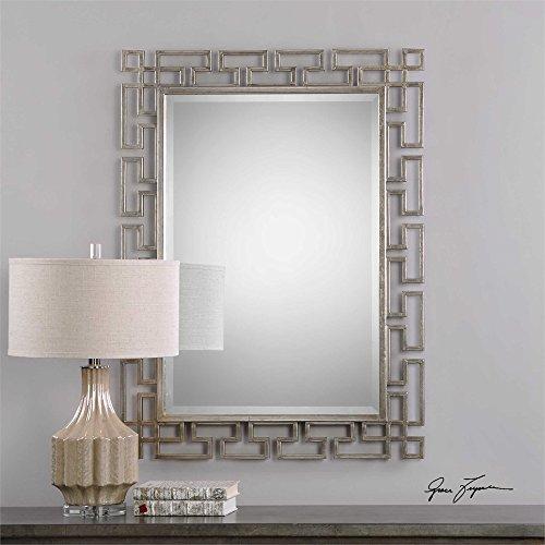 (Uttermost Agata Silver Mirror)