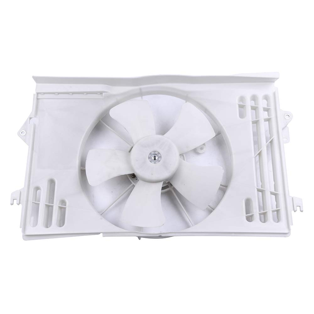 OCPTY Replacement Radiator//Condenser Cooling Fan Assembly for Pontiac Vibe Toyota Corolla//Matrix
