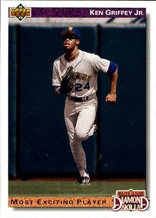 Amazoncom 1992 Upper Deck Gold Hologram Baseball Card 650