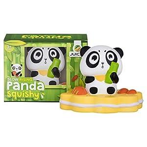 Jumbo Panda Squishy | Very Slow Rising | Premium Kawaii Gift Box | Fruit Scented Fun | Stress Reliever For Adults Kids Boys Girls | Squishies Non Toxic Eco Friendly