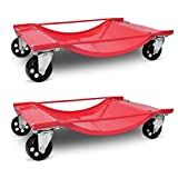 SKB Family Car Transport Dolly 2pcs New Trailer Wheels Cart