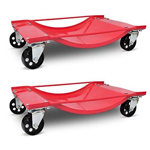 SKB Family Car Transport Dolly 2pcs New Trailer Wheels Cart by SKB Family (Image #5)