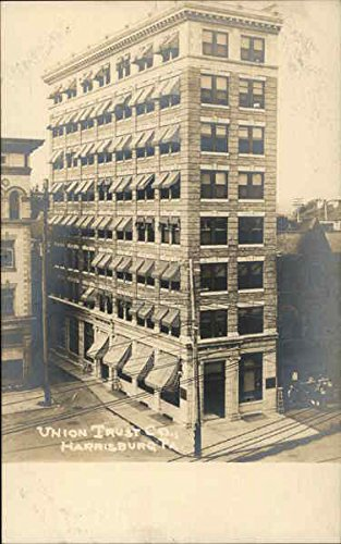 (Union Trust Company Harrisburg, Pennsylvania Original Vintage Postcard)