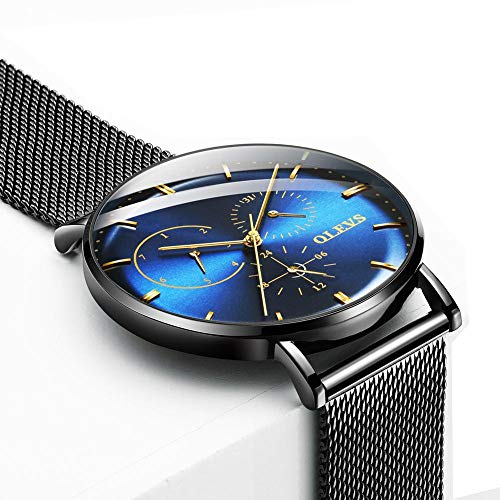b1cf7b3f28d7 Aficionados a los Relojes - Reloj reloj de pulsera reloj de pulsera reloj  de pulsera para hombres en venta hombre movimiento japonés acero inoxidable  ultra ...