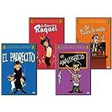 Cantinflas 4:Pack( El Padrecito, El Bolero de Raquel,El Analfabeto & Su Excelencia)