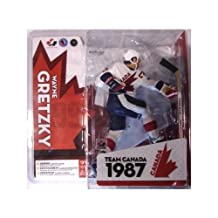 McFarlane Toys NHL Sports Picks Series Team Canada Action Figure: Wayne Gretzky (1987 Team Canada) White Jersey