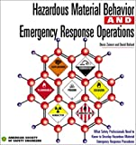 Hazardous Material Behavior And Emergency Response Operations