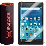 "Amazon Fire HD 8 Screen Protector (2015,8""), Skinomi® TechSkin Full Coverage Screen Protector for Amazon Fire HD 8 Clear HD Anti-Bubble Film - with Lifetime Warranty"