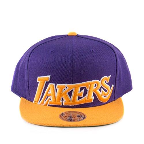 Mitchell & Ness NBA Cropped XL Logo Adjustable Snapback Hat – DiZiSports Store