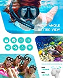 Hiearcool Snorkel Set for Adults and Youth,Diving